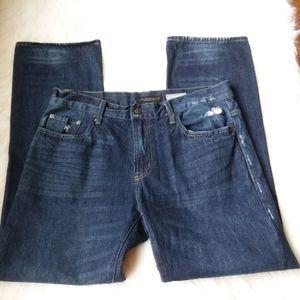 Men's Aeropostale Straight Dark Wash Jeans 34/31